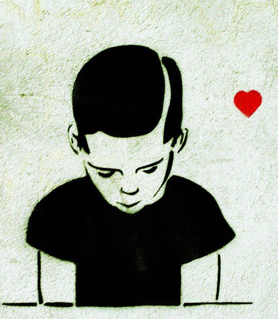 Boy in love