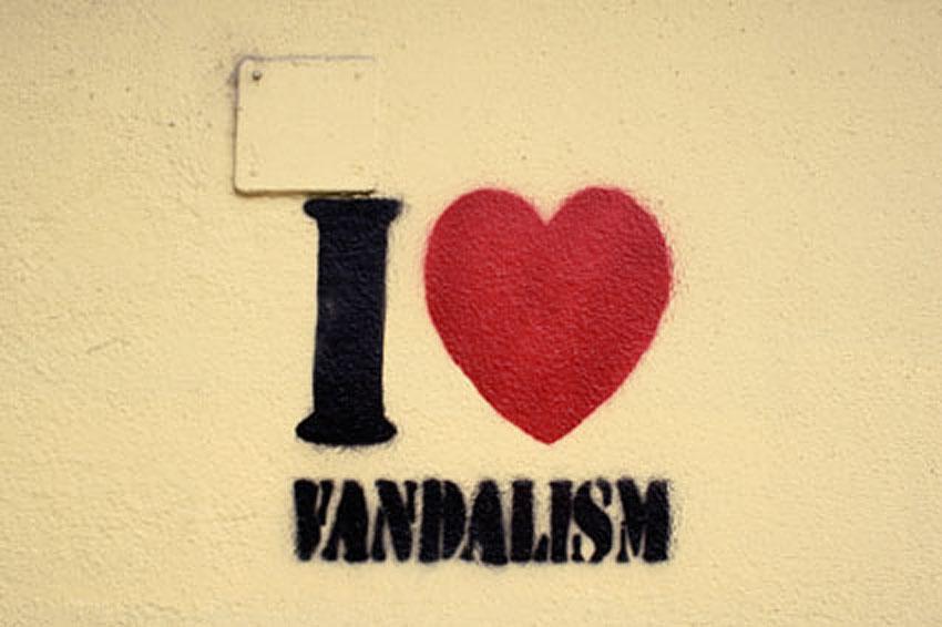 I Love Vandalism