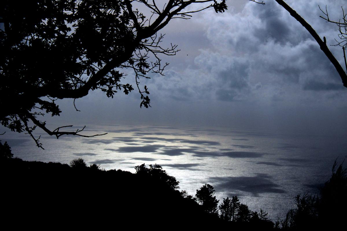 Clouds & ocean