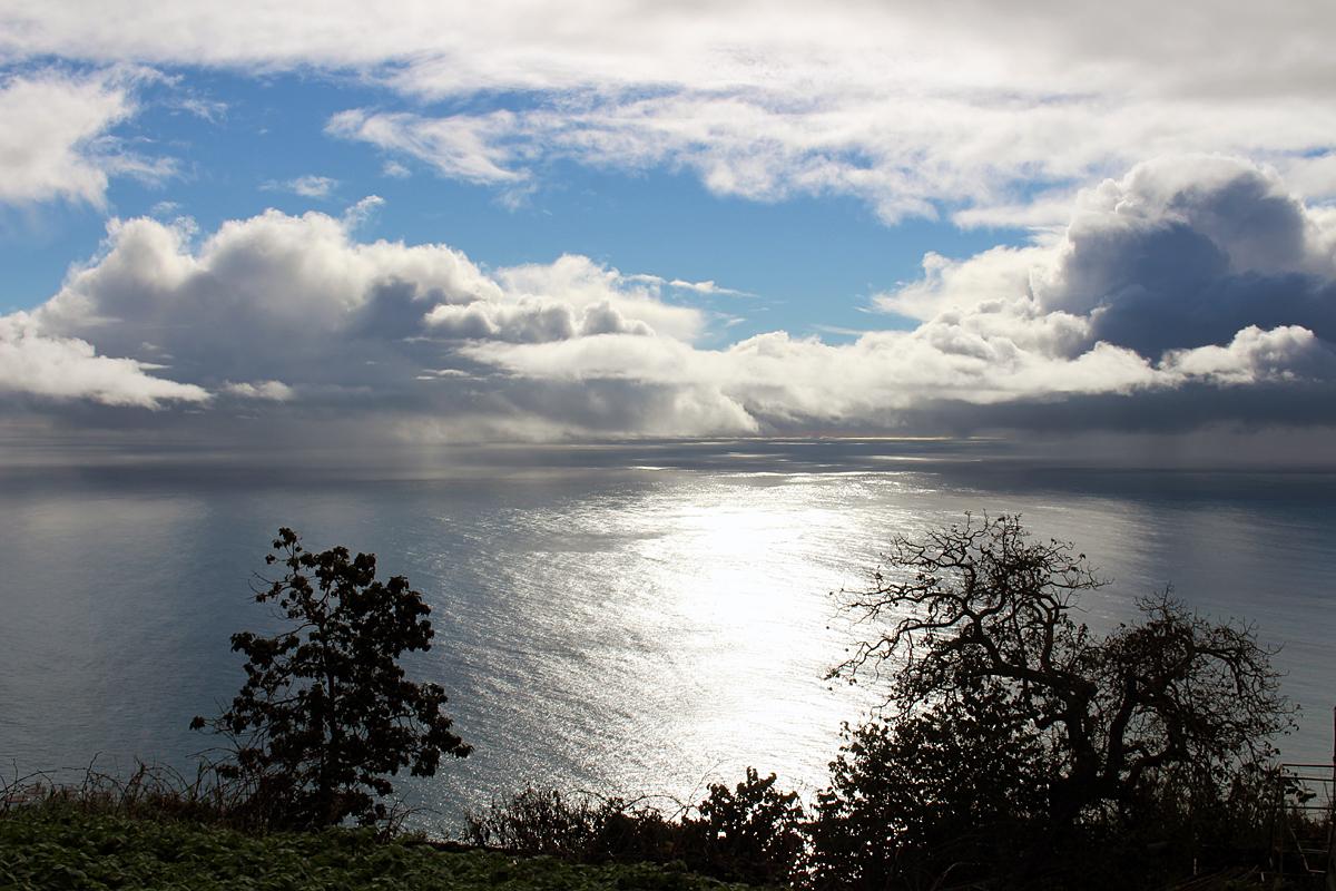 Sky over the ocean